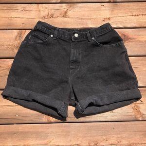 Vintage black shorts